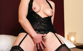 """European MILF Magda wants to try some black cock"""
