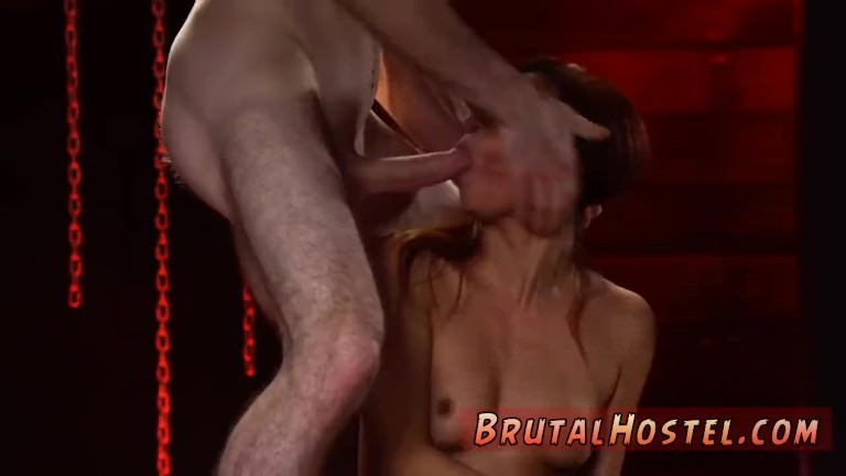 Japan bdsm squirt and brutal clips poor blonde first time Poor little