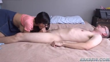 Sneaky handjob squirt cum facial threesome it was an experience I'd be