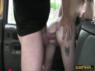 Sexy American Girl Trades Sex For A Free Taxi Ride