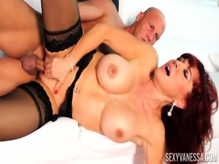 Redhead Mommy Addicted To Sex