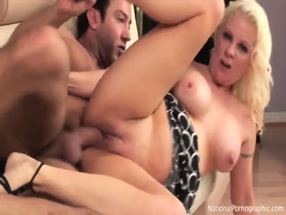 Busty Mom Takes Dick