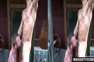 Big dick gay anal sex with cumshot 2