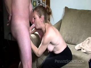 Wife Receives Massive Creampie