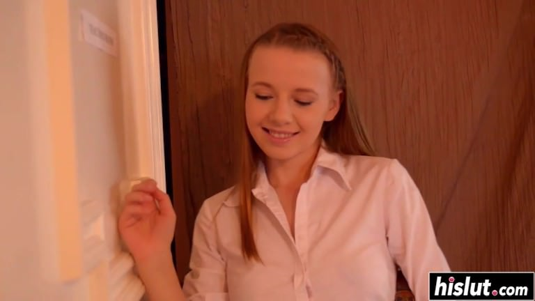 Olivia Grace gets nailed by her teacher