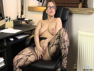 Naughty Mommy At Work