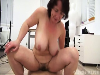 Mature Lady Miroslava Still Knows How To Ride A Cock