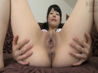 Asian Girl Shows Her Pussy
