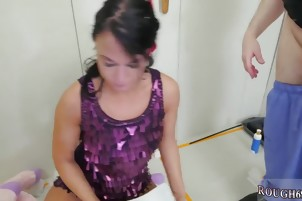 Teen babe rough anal first time Talent Ho