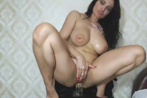 Sweet Milf Shows Off And Masturbates