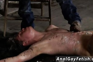 Teen boy rubber bondage gay porn and skater His weenie is