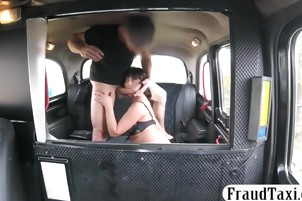Hot ass woman nailed by pervert driver for a free fare