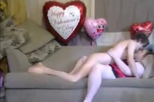 Wife Gets Fucks For Valentine Day & Cum All Inside Pussy
