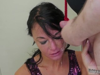 Bondage and taped mouth and red head big tits facial Talent Ho