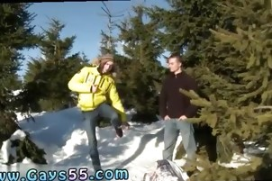 Amatuer gay hustler public bareback sex porn Snow Bunnies