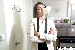 Adriana Rae gets her tight little pussy fucked and stretched