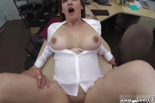 Super big tits Foxy Business Lady Gets Fucked!