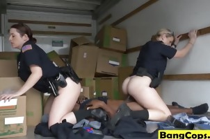 Maggie Green and Joslyn banging in truck