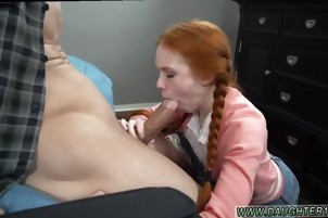 Dad and friend's daughter mom boss virgin shower Dolly