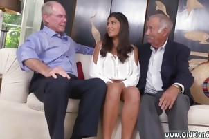 Old man fucks and granny black cock first time Going South O