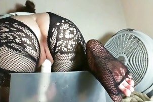 Toying and tickling my asshole