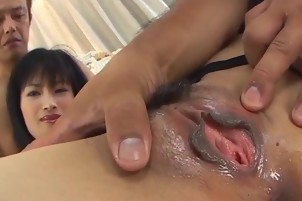 Mio Kanna enjoys cocks in more than one scene