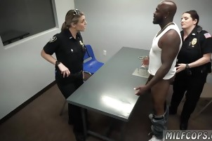Milf foot slave and sexy body Milf Cops