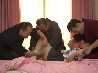 a beloved sister cuckold in middle-aged father clip