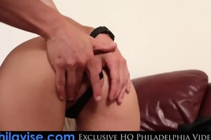 PHILAVISE- Bringing blonde milf Alana Luv back to our place
