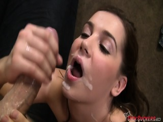 Lovely Girl Knows How To Suck A Cock