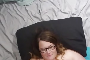 Bbw wife fucked and cum on face, tits and belly vid A