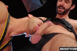 Hot gays anal sex with cumshot