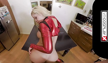 VRCosplayXcom Busty Jessa Rhodes Is Horny Lady Deadpool