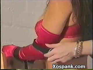 Bdsm Chick Spanked Pleasurably