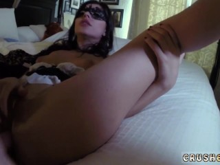 Lesbian stepmom teaches friends daughter and daddy knows better and daddy