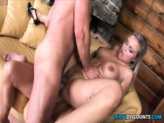 Dped Busty Babe Creampied