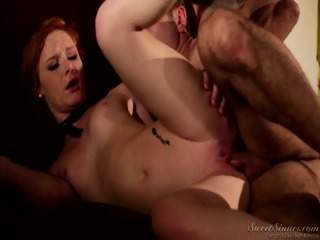 Charming Redhead Girl Gets Fucked