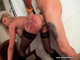 Mature Whore Takes Cock