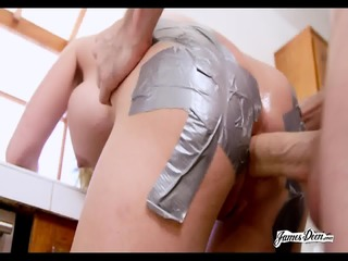 Stretched Ass Fucked Hard