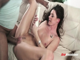 Mommy Filled With Black Dick