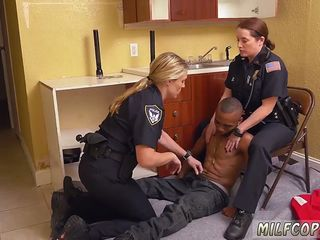 Huge tits milf Black Male squatting in home gets our mummy officers squatting on his face