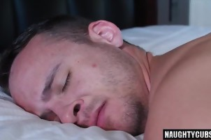 Hot son anal sex with facial