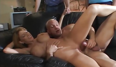 Cuckold Husband Watches His Beautiful Wife Fuck Another Guy