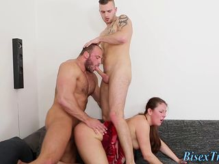 Cock riding bisex babe