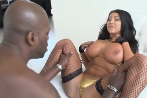 Sexy Asian With Big Tits Fucked Interracial By Black Guy