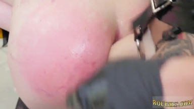 Rough interracial cuckold and gagging with panties bondage This is our