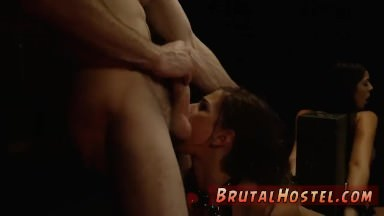German brutal Bondage, ball-gags, spanking, sexual indignity and