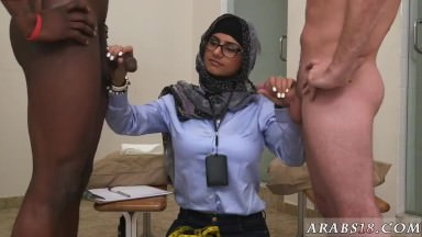 Arab patron's daughter Black vs White, My Ultimate Dick Challenge.