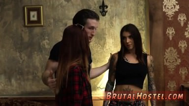 German bdsm hd Excited youthfull tourists Felicity Feline and Jade