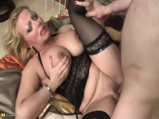 Big Titty Mommy Is Really Horny